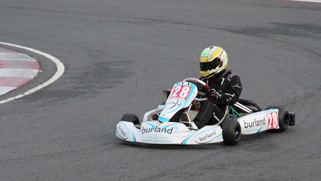 Josh Vallance - Junior Rotax