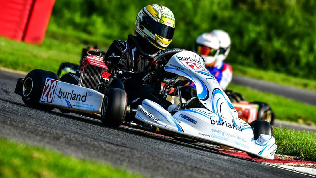 Josh Vallance Junior Rotax Racer