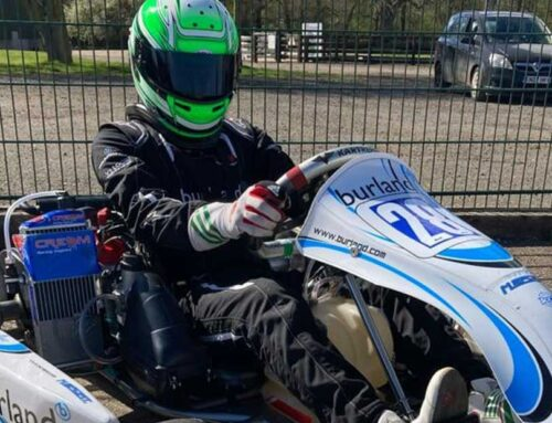 First race of 2021 and first race in Senior Rotax