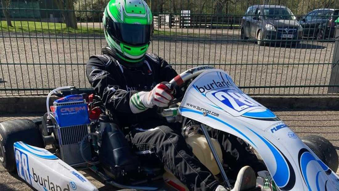 Josh Vallance - first race of 2021